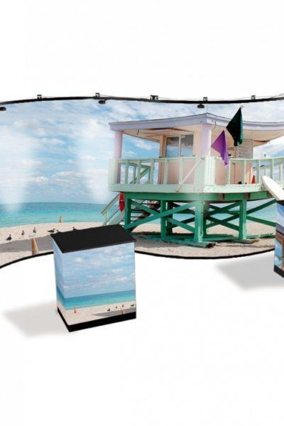 stand expozitie - Top Advertising productie publicitara Valcea