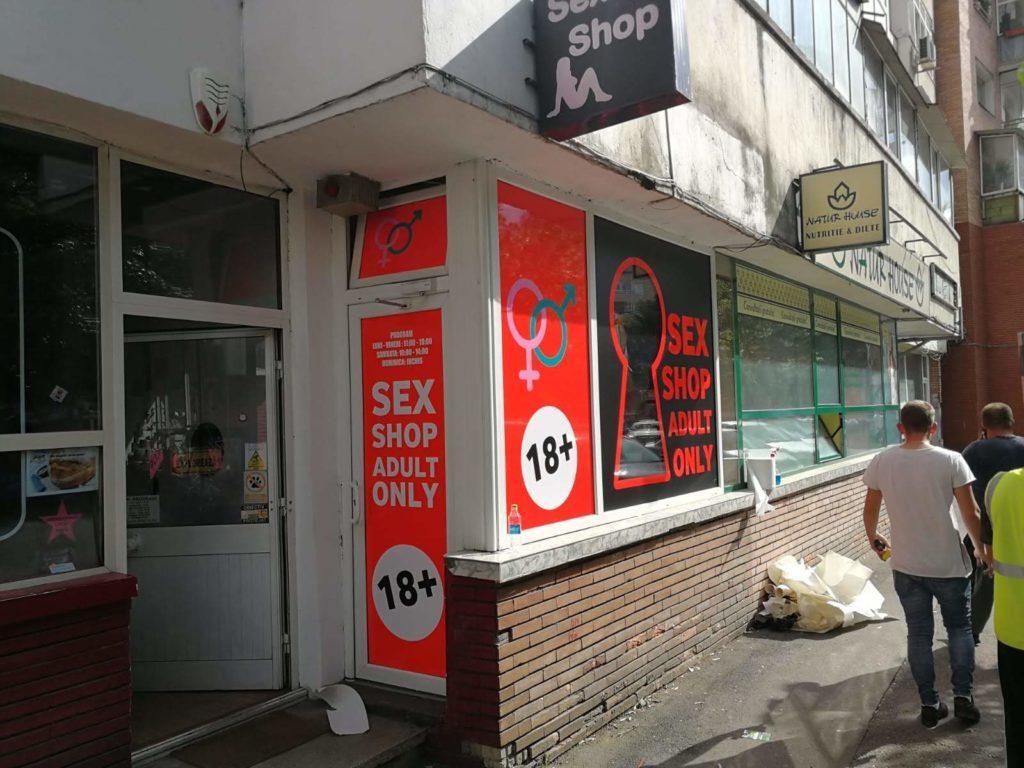 sex shop valcea productie publicitara valcea top advertising valcea autocolantare spatiu comercial sex